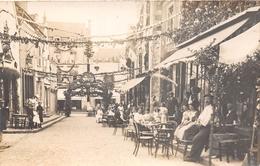¤¤  -  BAUGE   -   Carte-Photo   -  Festival De 1913   -  La Terrasse D'un Café    -  ¤¤ - Other Municipalities