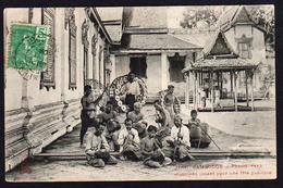 PNOM- PENH ( Cambodge): Bel Ensemble De 3 Cartes Oblitérées - Cambodia