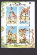 Kenya, Scott #495, Mint Never Hinged, Giraffes, Issued 1989 - Kenya (1963-...)