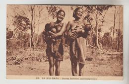 3 CPSM CAMBODGE - La Nui Bara : Jeunes Femmes Cambodgiennes (dénudées) Et Leurs Enfants Et Moïs Scènes De La Jarre,.... - Cambodia
