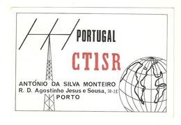 CT--02417-- CARTOLINA-PORTOGALLO-PORTO-ANTENNA-MAPPAMONDO- 1974 - CB