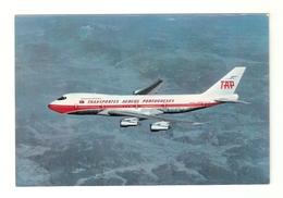 "CT--02418-- CARTOLINA-PORTOGALLO- BOEING 747-B "" NAVIGATOR JET "" 1974 - CB"