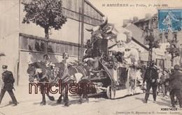 CPA 92 ASNIERES En Folie 1er Juin 1924 Char  Tres Bon état - Asnieres Sur Seine