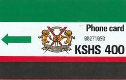 Kenya -  K.P.T.C. Logo & Notch - Green Arrow - 400 - Kenya