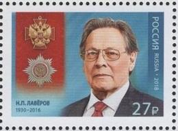 Russia 2018 - One Famous People  Nikolai Pavlovich Loverov Medal Award Geologist Geology Teacher Sciences Stamp MNH - Geology