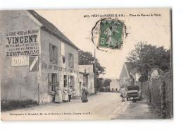 CPA 77 Mery Sur Marne Place Du Bureau De Tabac - France