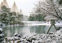 1 AK Japan * Kenrokuen Garten In Kanazewa (Präfektur Ishikawa) Im Winter - Er Gehört Zu Den Drei Perfekten Gärten Japans - Other