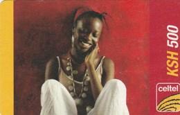 Kenya -  Celtel - Woman - Kenya