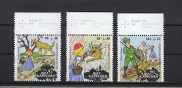Deutschland BRD  **   3208-3210 Rotkäppchen Neuausgaben 11. Februar 2016 Postpreis 4,25 - BRD