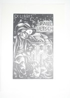 Ex-libris Moderne Illustré XXème - Allemagne - Paul ULTSCH - Bookplates