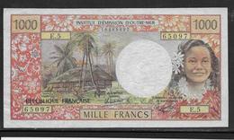 Tahiti - 1000 Francs - 1983 - Pick N°27c - TB/TTB - Banknoten