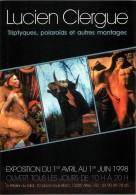 VERITABLE AUTOGRAPHE DE LUCIEN CLERGUES - PHOTOGRAPHE EXPOSITION A ARLES - 1998 - Autographes