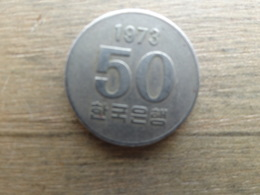 Koree  Du Sud  50  Won  1973  Km  20 - Corée Du Sud