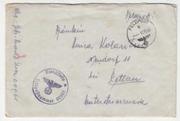 Feldpost Letter Cover Travelled 1943 FP00961 To Pettau (Ptuj) B180420 - Militaria
