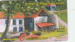 Virgin Islands - BVI Cultural Heritage - Sugarcane Factory - 193CBVJ - Virgin Islands
