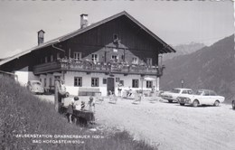 Bad Hofgastein - Jausenstation Grabnerbauer - Ford Taunus Opel Rekord VW Volkswagen Kafer Bug - Bad Hofgastein