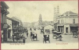 Collection-Singapore (UNC) 1900s North Bridge Road Mosque Jamae Chulia + Hindu Temple - Lambert N°28404 - S'pore-cpa Old - Singapore