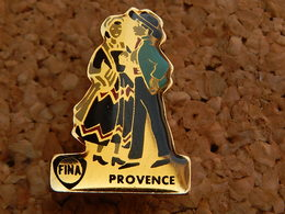 Pin's -  FINA - Provence - Fuels