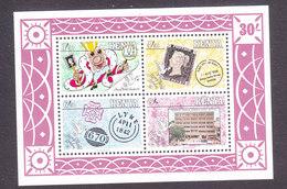 Kenya, Scott #522a, Mint Never Hinged, Penny Black Anniversary, Issued 1990 - Kenya (1963-...)