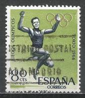 Spain 1964. Scott #1267 (U) Olympic Games, Broad Jump * - 1961-70 Oblitérés