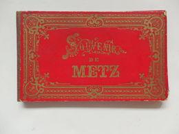 12 Photos De Metz (57) Avec Cachet De La Librairie Sidot Frères 10, Rue Des Jardins à Metz. - Lieux
