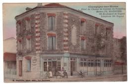 CHAMPIGNY-SUR-MARNE - Hôtel Du Champ De Courses Du TREMBLAY- Maison Ph.MAZOUIER. - Champigny Sur Marne