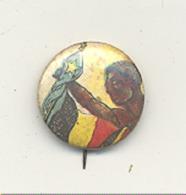 Broche Avec épingle Pour Veston - Indépendance Du Congo Belge (sous Réserve ) - Autres Collections