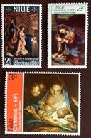 Niue 1969, 1970, 1971 Christmas MNH - Niue