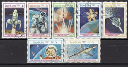 LAOS 904-910,used - Space