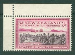 New Zealand: 1940   Centennial    SG618   3d    MNH - 1907-1947 Dominion