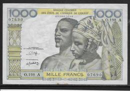 Côte D' Ivoire - 1000 Francs - Pick N°103A - TTB - Côte D'Ivoire