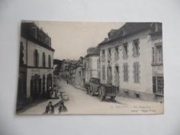 Cpa  Pontivy  Rue Malguénac  1916  Belle Animation - Pontivy