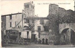FR66 BAIXAS - Brun 1149 - Porte Saint Joseph - Diligence - Animée - Belle - France