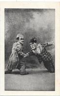 Deux CLOWNS De PETITE TAILLE - ARTISTES DE CIRQUE - NAINS  - Début XXe - Circo
