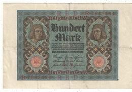 100 Mark 1920 - 1918-1933: Weimarer Republik