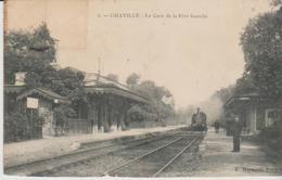 92 ( La Gare De La Rive Gauche ) - Chaville