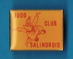 PIN'S //  ** JUDO CLUB / SALINDROIS ** GARD ** - Judo
