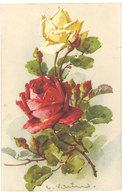 Cpa Signée Klein - Fleurs, Roses - Klein, Catharina