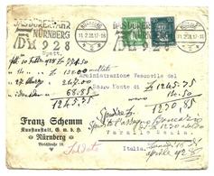 1928 - Germania - Lettera Timbro Pubblicitario    10/30 - Germany