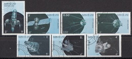 LAOS 988-994,used - Space