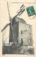 A 18 - 434 - MONTHYON - LE MOULIN A VENT - BAUER - POUSSEAU ED - 3 - MEUNERIE - MOULINS - - France
