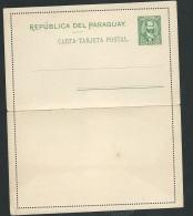 Paraguay - Carte Lettre Entier, Non Voyagé -  Ax13707 - Paraguay