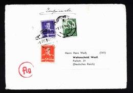 A5402) Romania Rumänien Drucksache Deutsche Gesandtschaft Bukarest 1.4.41 Zensur - 2. Weltkrieg (Briefe)