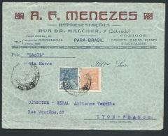 Bresil - Lsc Entète Commerciale Affranchie Vers La France Vers 1930 ( D'après L'archive D'ou Elle Provient ) Ax13713 - Brazil