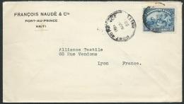 Haiti - Lsc De Port Au Prince Affranchie Pour La France En 1929   Ax13714 - Haiti