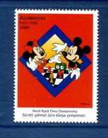 - Etat : **  Azrerbaidjan Azerbaycan  YT 374 MI 437  Disney Mickez Minnie   P 1796 - Azerbaïjan
