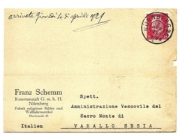 1929 - Germania - Cartolina Timbro Nurnberg    9/45 - Brieven En Documenten