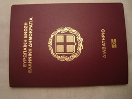 Greece Biometric Passport Reisepass Passeport Mint Condition #1 - Documents Historiques
