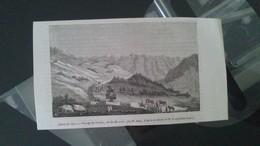 Affiche (gravure) - Passage Du TENIAH Col De Mouzaia - Affiches