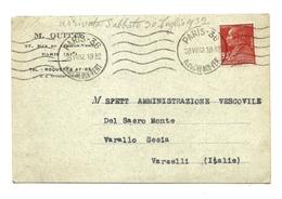 1932 - Francia - Cartolina     9/47 - Francia